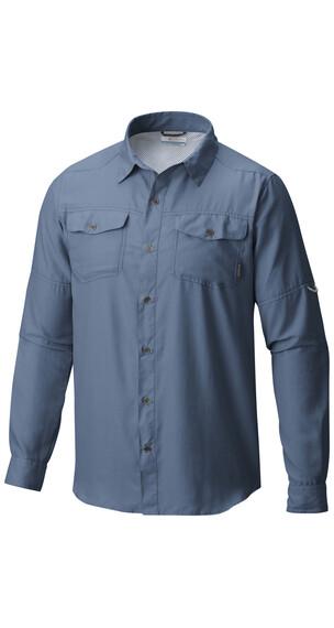 Columbia Pilsner Peak II - Camiseta de manga larga Hombre - azul